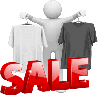 Custom Tshirt Sale
