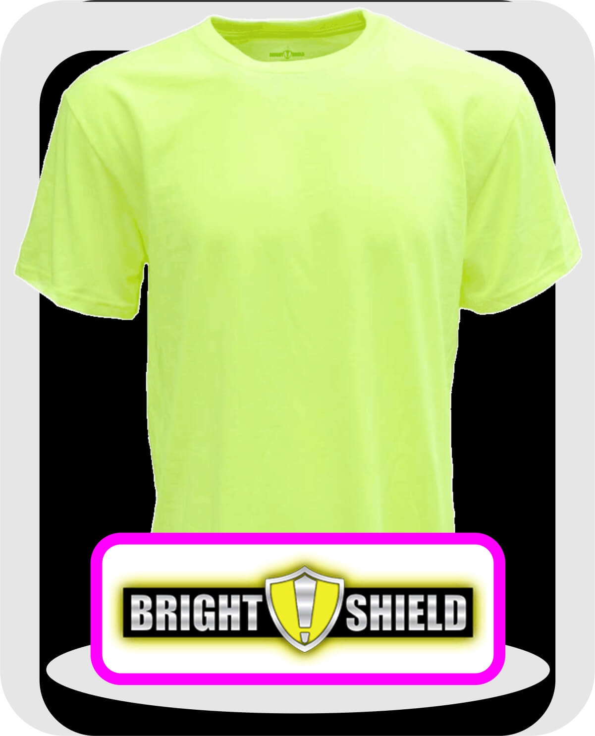 Bright-Shield-T-Shirts-Safety-Green