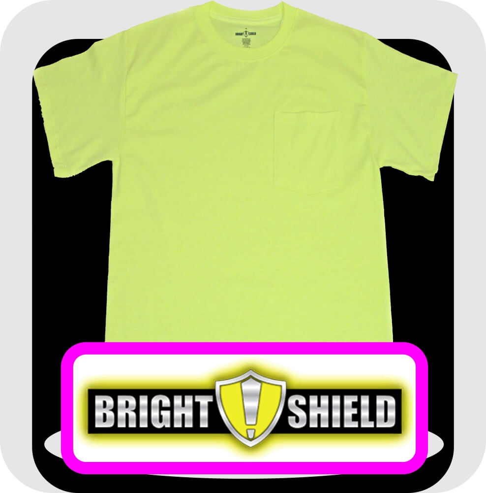 Bright-Shield-Pocket-T-Shirts