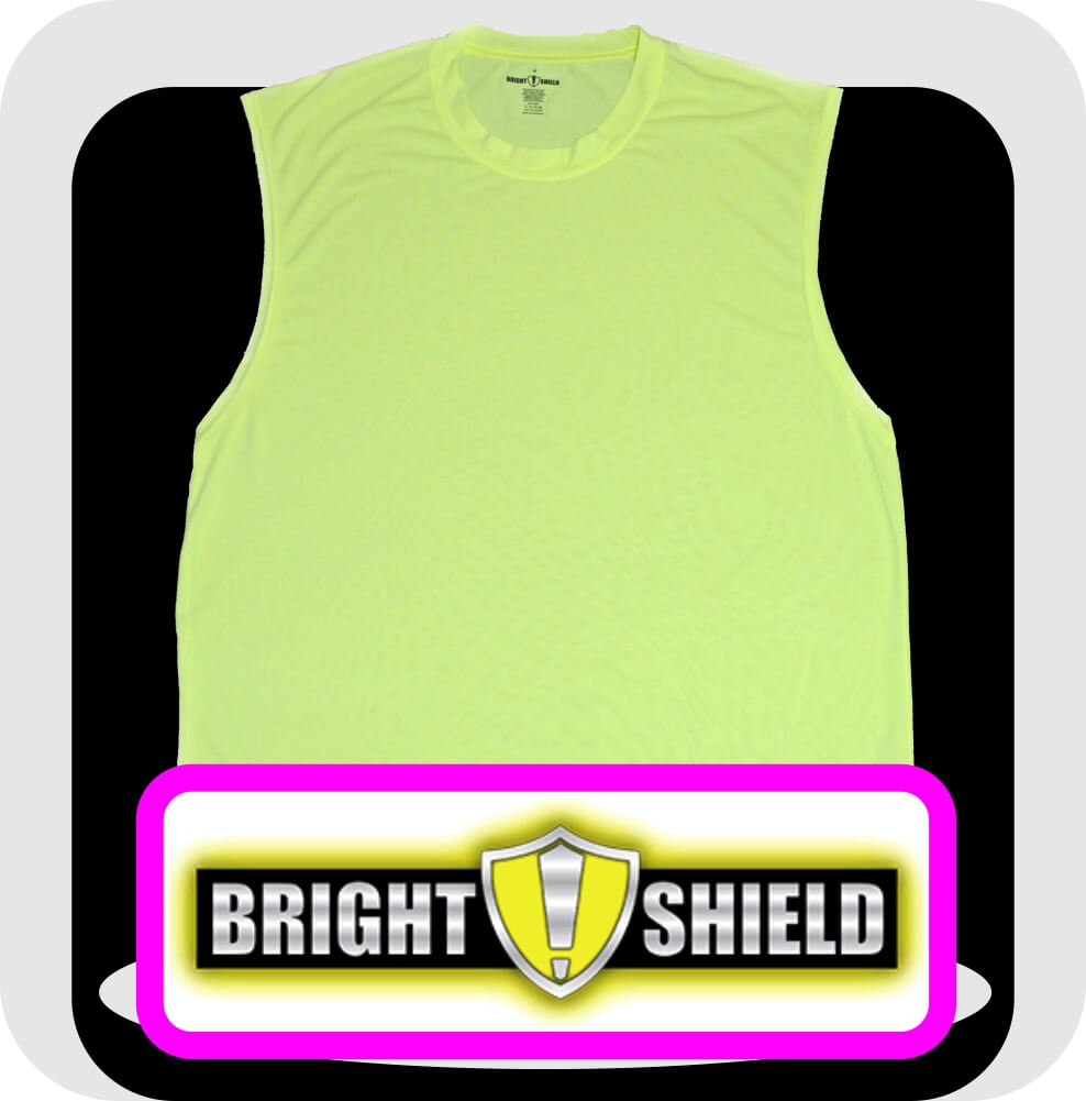 Bright Shield Safety Green Shooter Shirts
