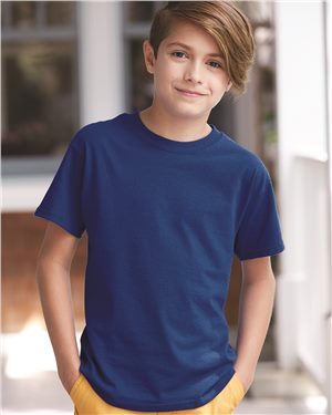 Hanes-Youth-Cheap Custom T-Shirts