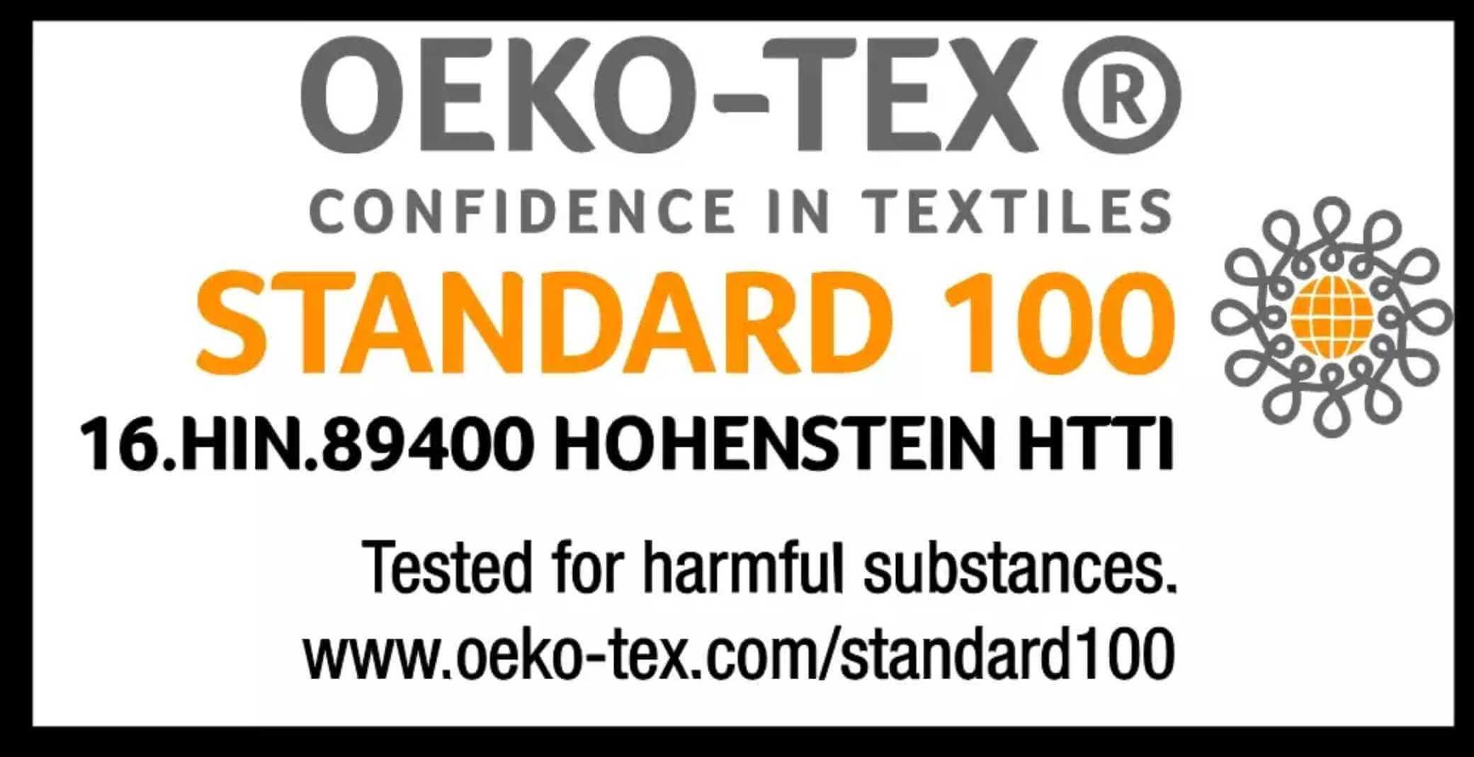 Oeko-Tex®-Standard-100-Certified