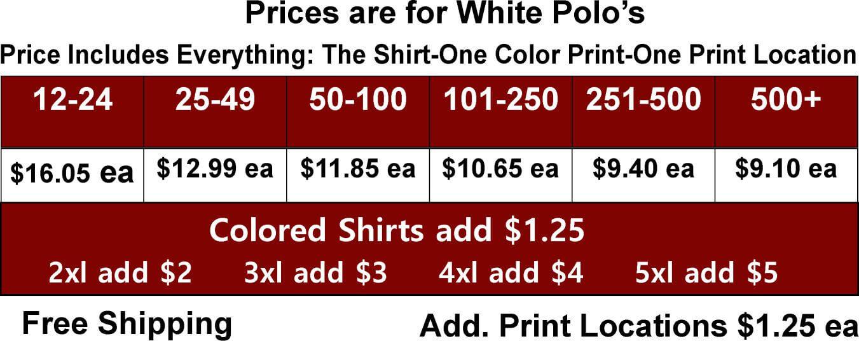 Jerzees Spotshield with Pockets Cheap Custom Sport Shirts
