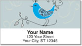 Whimsical Bird Address Labels