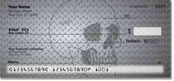 Diamondplate Skull Checks