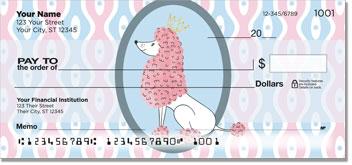 Pretty Pink Poodle Checks