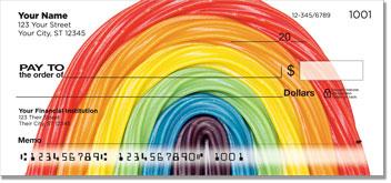 Licorice Rainbow Checks