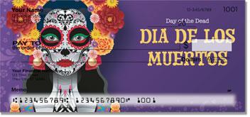 >Day of The Dead Skull Mask Checks