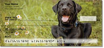 Black Lab Tribute Personal Checks