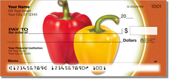 Stoplight Pepper Personal Checks