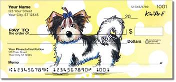 Cartoon Yorkshire Terrier Checks Series 3