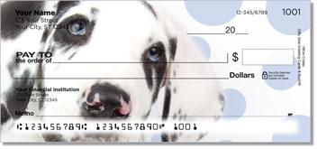 Dalmatian Puppydog Eyes Checks