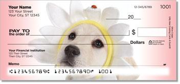 Yellow Lab Puppydog Checks
