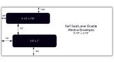 Self Seal Laser Check Envelopes