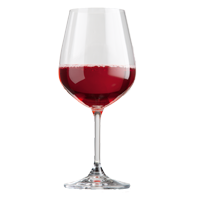 Take your table settings to the next level with these elegant dishwasher safe crystalline wine glasses.
