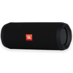 This waterproof portable Bluetooth speaker produces powerful stereo sound and lasts up to 12 hours.