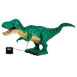 ROBOALIVE Attacking T-Rex