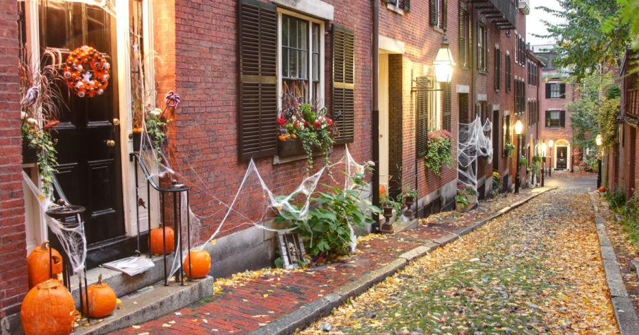 best small towns for halloween