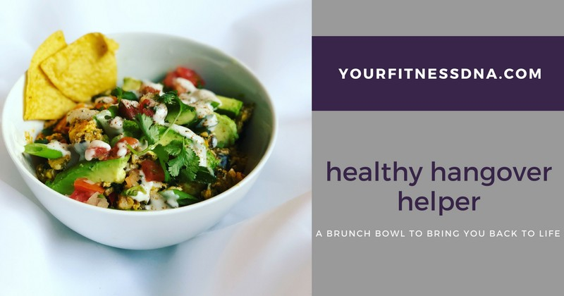hangover helper brunch bowl