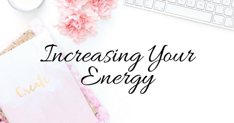 increase energy