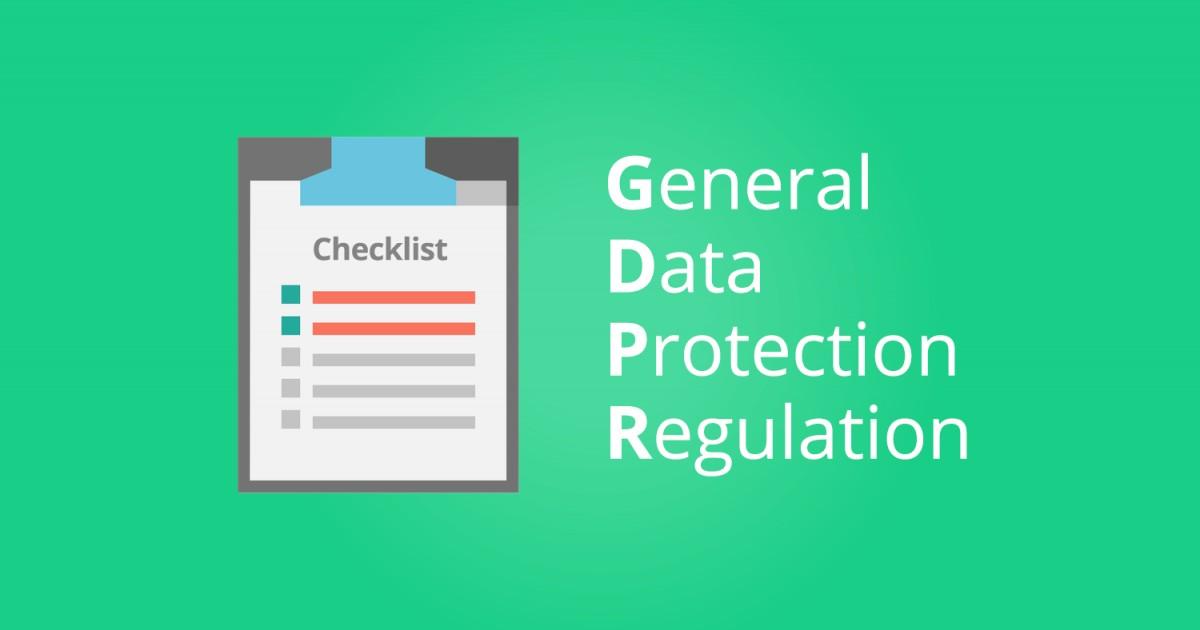 GRPR 2018 compliant Checklist