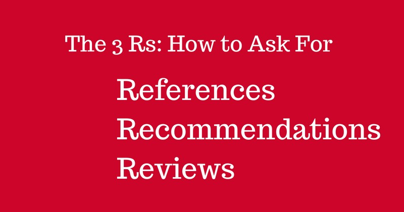 How to Ask For References Recommendations & Review