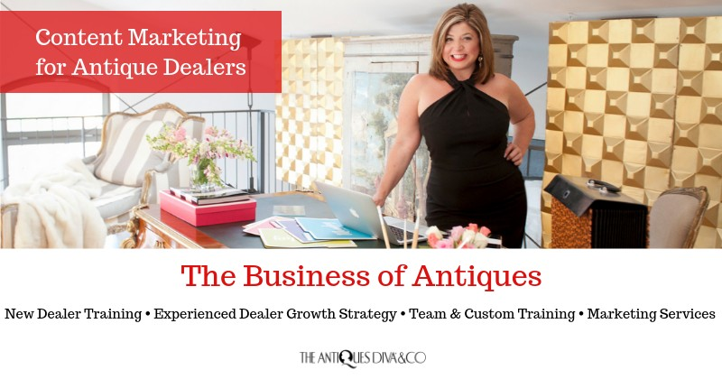 Content Marketing for Antique Dealers