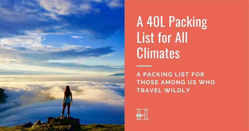How to pack for all climates