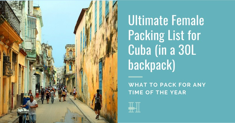 How to pack for Cuba
