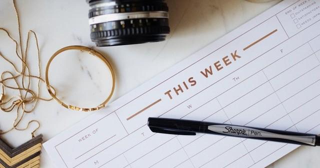 Weekly Influencer Checklist