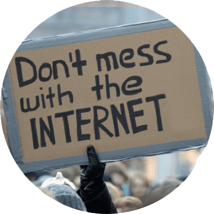 Don't Mess with the #Internet