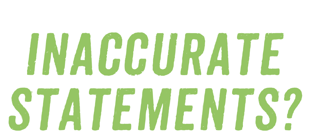 Does the first amendment protect inaccurate statements?