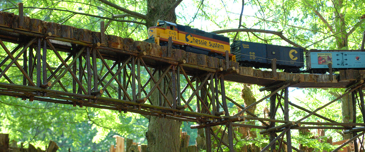 Model Trains at Cheekwood