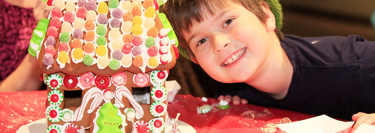 Gingerbread Workshop at Cheekwood