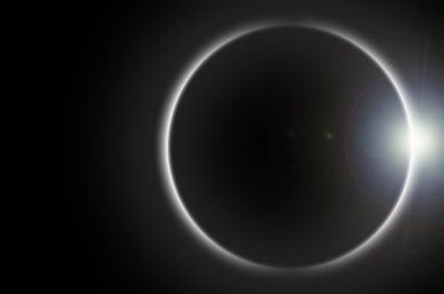 Solar Eclipse Moon Viewing at Cheekwood