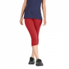 Hbhwear Womens Plain Capri HWPC-992-RED
