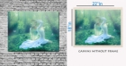 meSleep Canvas painting without frame - Nature girl pc-11-057