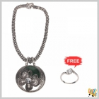 Jawaharaat Necklet In Silver Finish 20141221_Nacklet_1