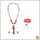 Jawaharaat Necklet In Wooden Touch For Women 20141221_Nacklet_12