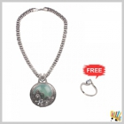 Jawaharaat Necklet In Silver Finish 20141221_Nacklet_2