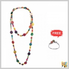 Jawaharaat Multicolour Necklet In Wooden Touch 20141221_Nacklet_3