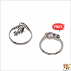 Jawaharaat Silver Finished Ring With Spectecular Look 20141221_Rings_1