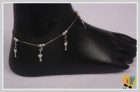 Jawaharaat Silver Finish Anklet With Dangling Jeys Anklet_md_4