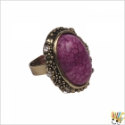 Jawaharaat Brass Finish Ring With White Daimonds Fancyrings_md_7