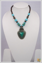 Jawaharaat Necklace In Combination Of Blue And Green Stones Veermala_md_2