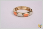 Jawaharaat Magnifies Kada In Orange And White Colored Stone kada_md_6