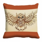 meSleep owl Digitally Printed 16x16 inch Cushion Cover cd-29-31