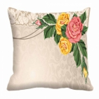 meSleep Flower Digitally Printed 16x16 inch Cushion Cover cd-29-35