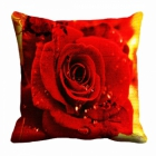 meSleep Rose Digitally Printed 16x16 inch Cushion Cover cd-29-36
