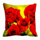 meSleep Rose Digitally Printed 16x16 inch Cushion Cover cd-29-37